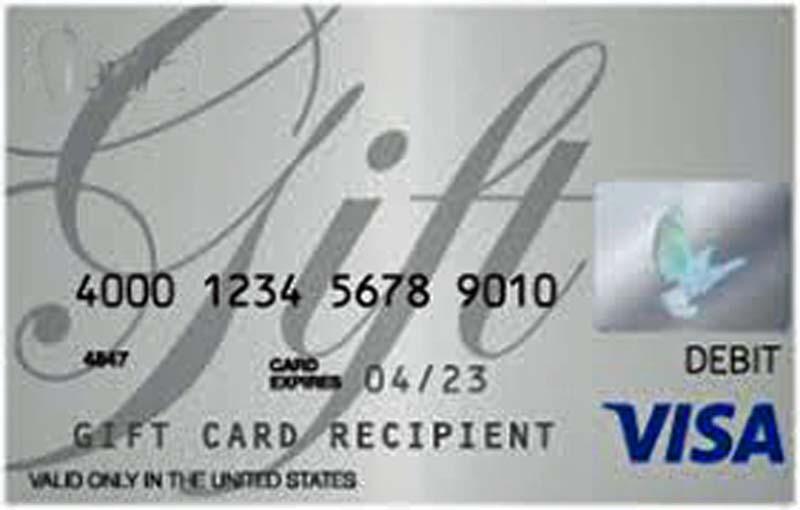 University Credit Union - VISA Gift Card